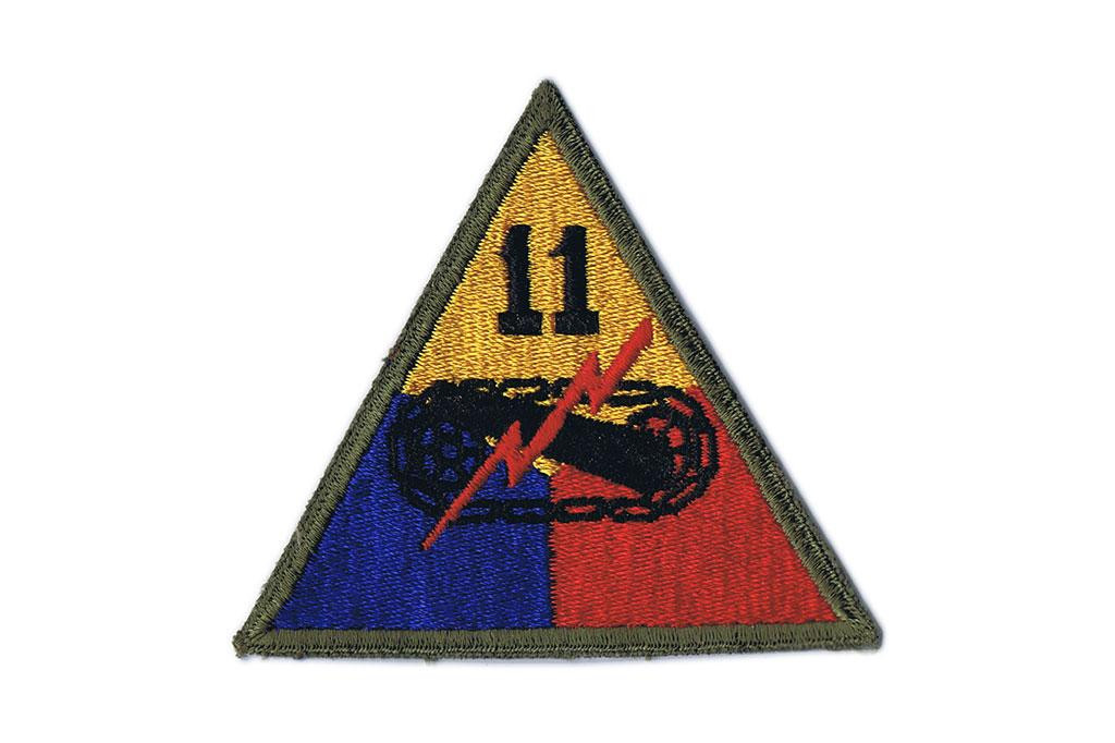 Patch, 11th Armored Division (Thunderbolt)