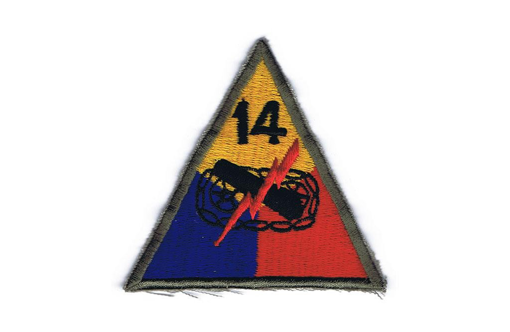 Patch, 14th Armored Division (Liberators)