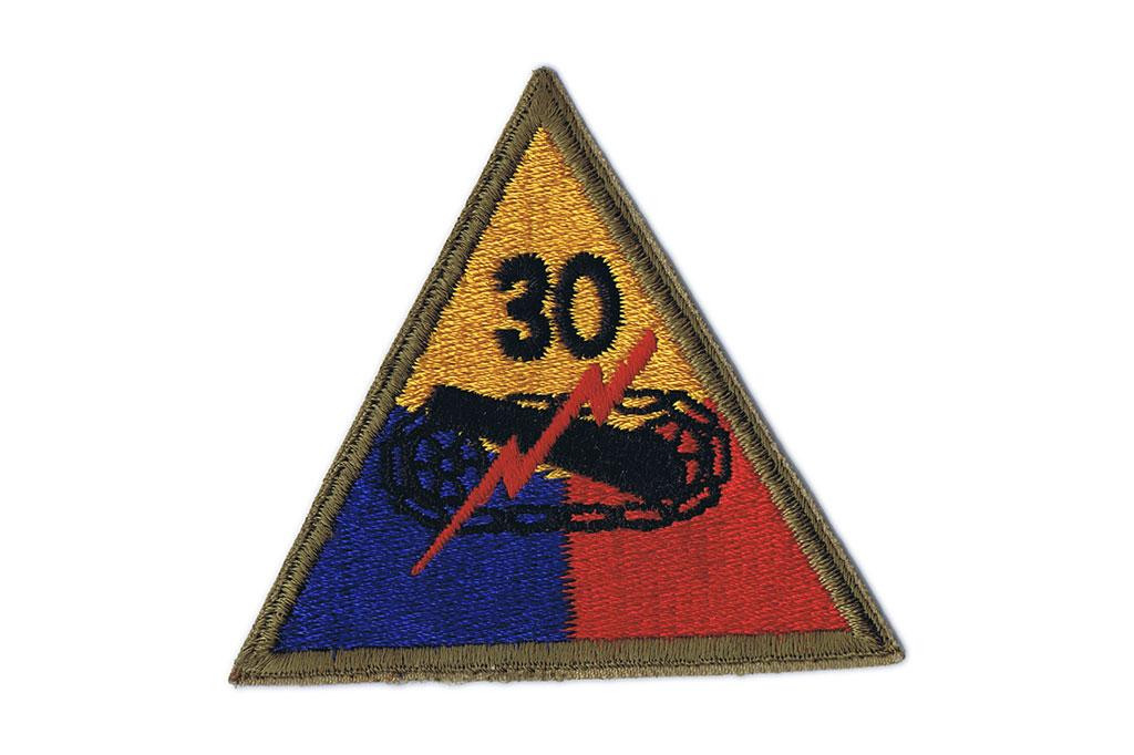 Patch, 30th Armored Division (Volunteers)