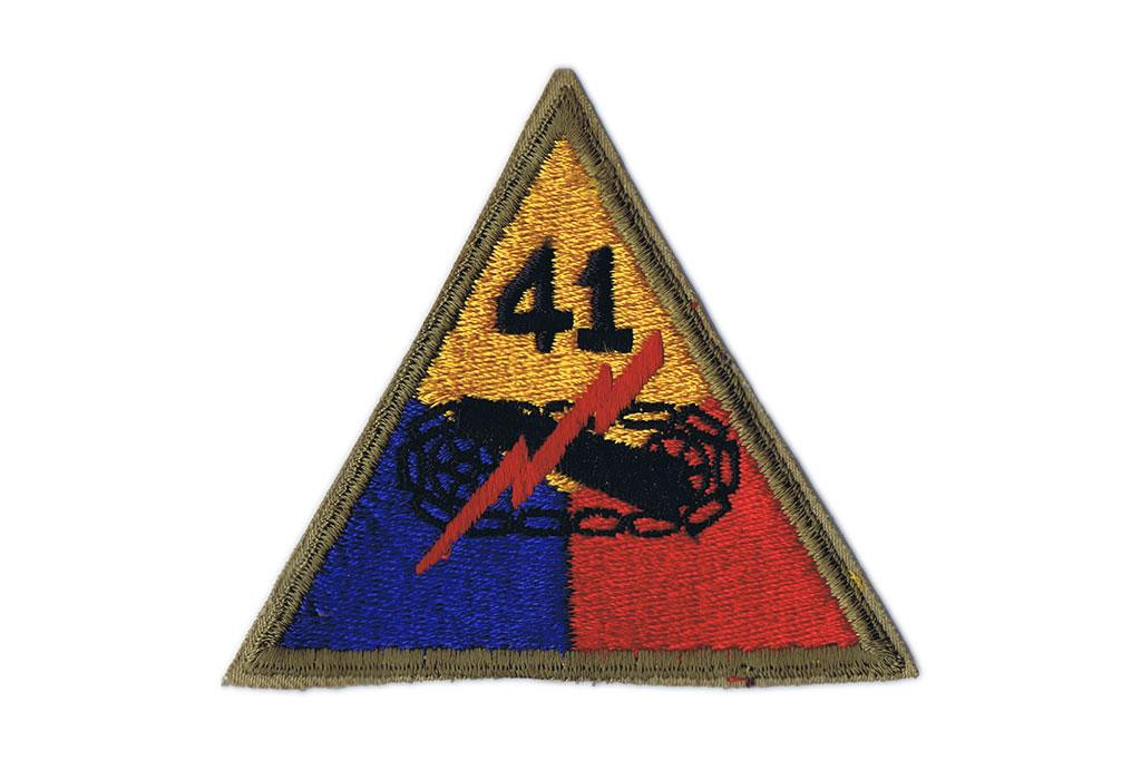 Patch, 41st Armored Division