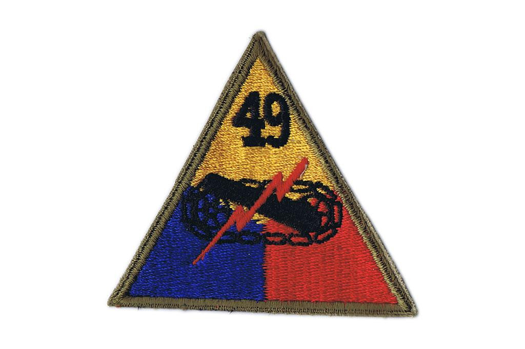 Patch, 49th Armored Division (Lone Star)