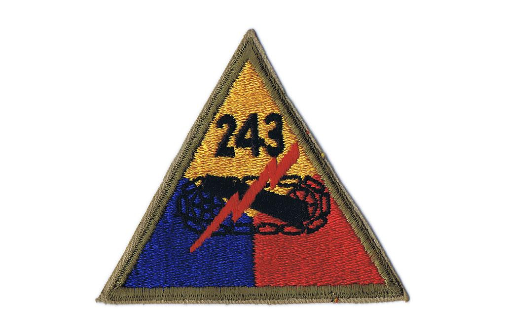 Patch, 243rd Armored Division