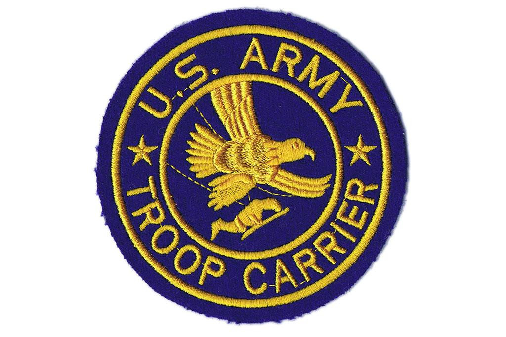 Pocket Patch, US Army Troop Carrier
