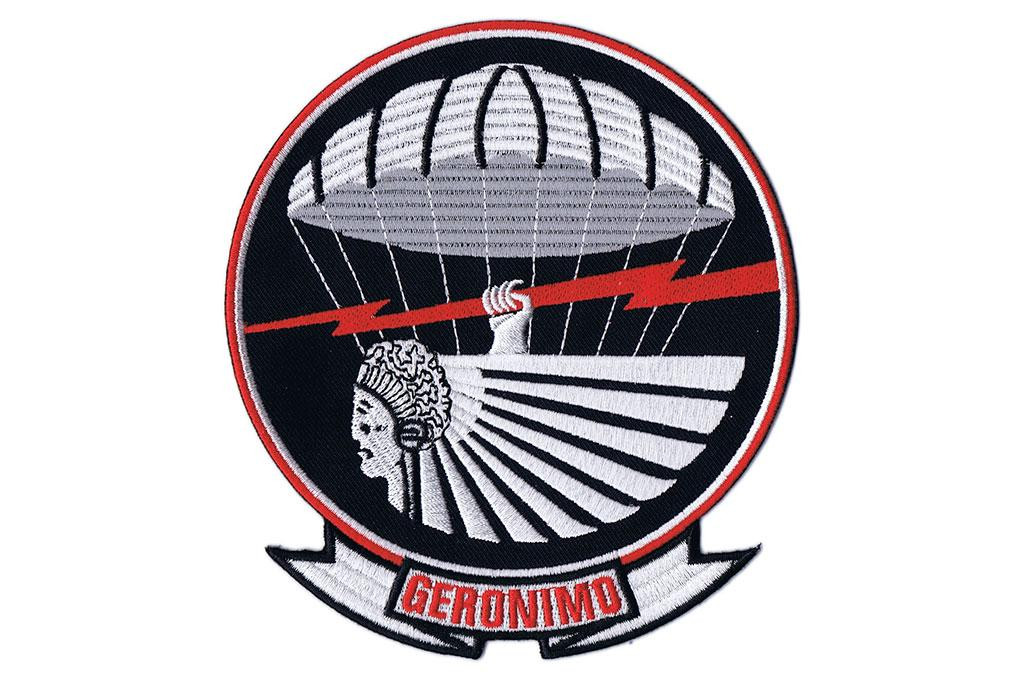 "Pocket Patch, 501st Parachute Infantry Regiment ""Geronimo"""