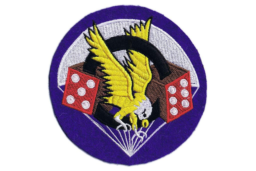 "Pocket Patch, 506th Parachute Infantry Regiment ""Pair of Dice"""