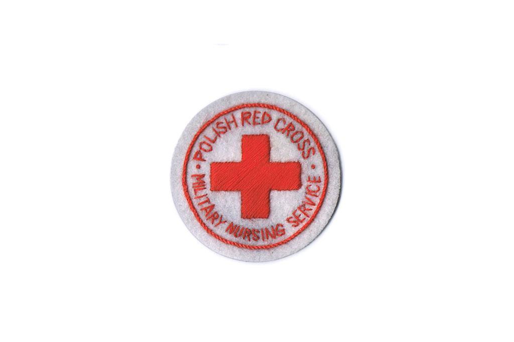 Patch, Polish Red Cross Military Nursing Service