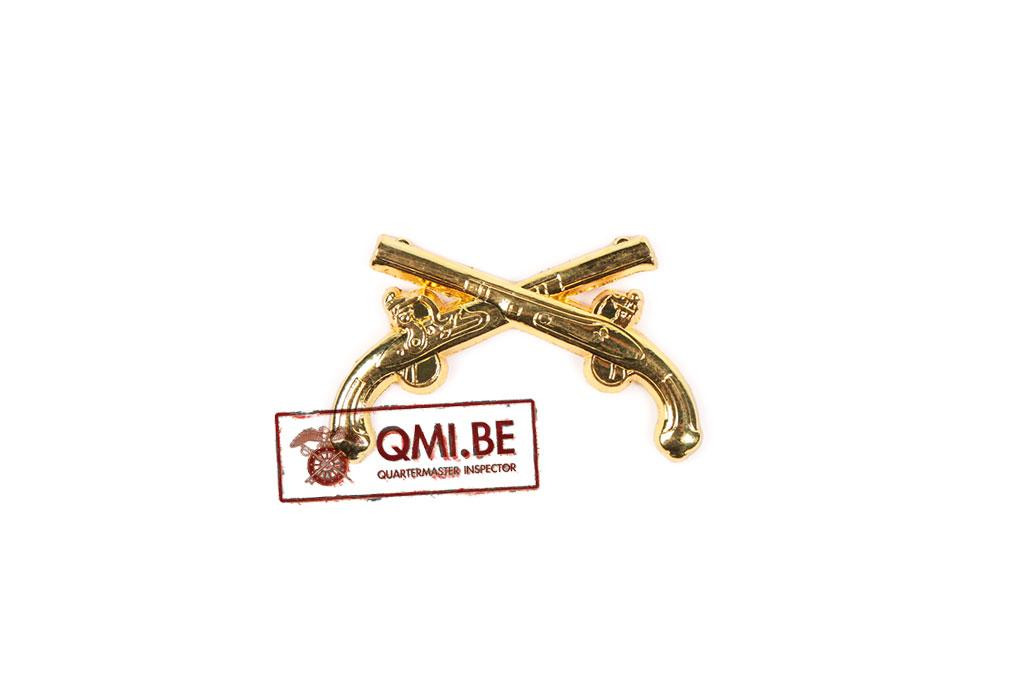 Collar pin, Military Police (MP) Officer