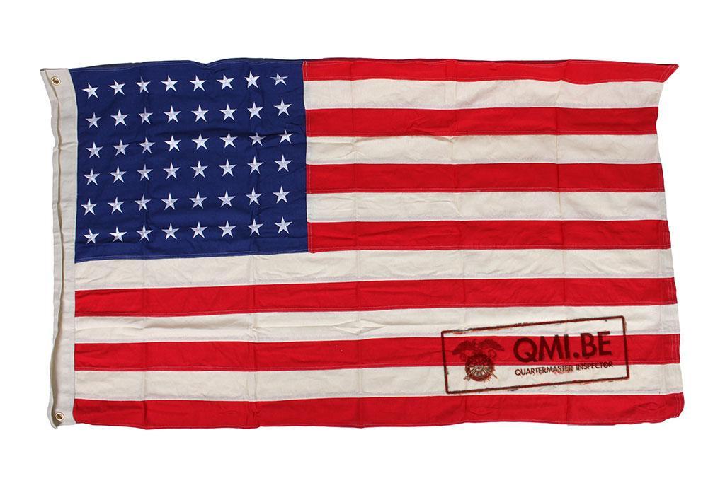 Flag, U.S. 48 stars, Cotton (90cm x 155cm)
