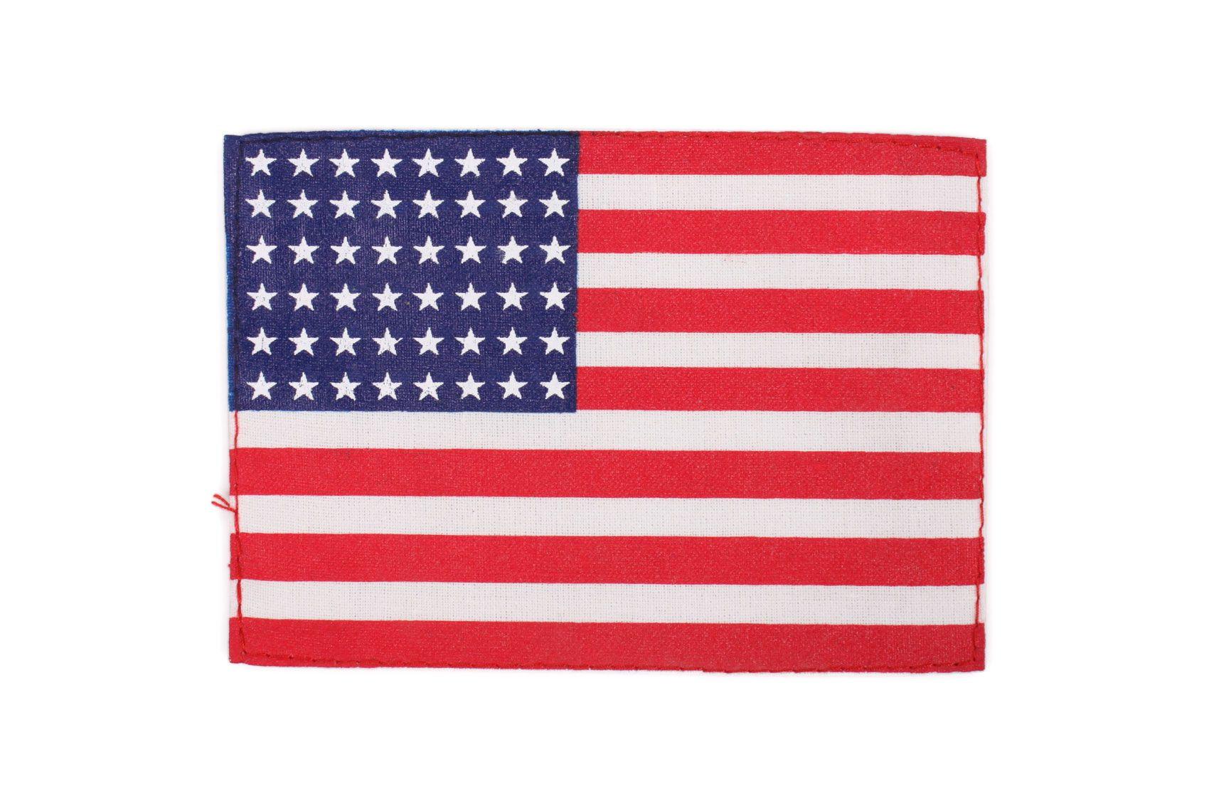 Patch, U.S. Flag (48 stars) - 12 cm x 8 cm