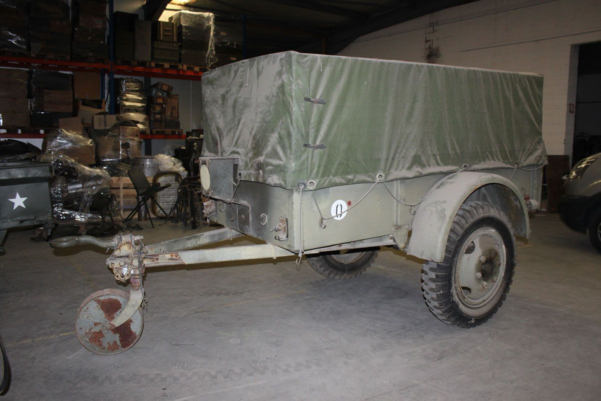 US WW2 GMC Trailer (Ex. French Army)