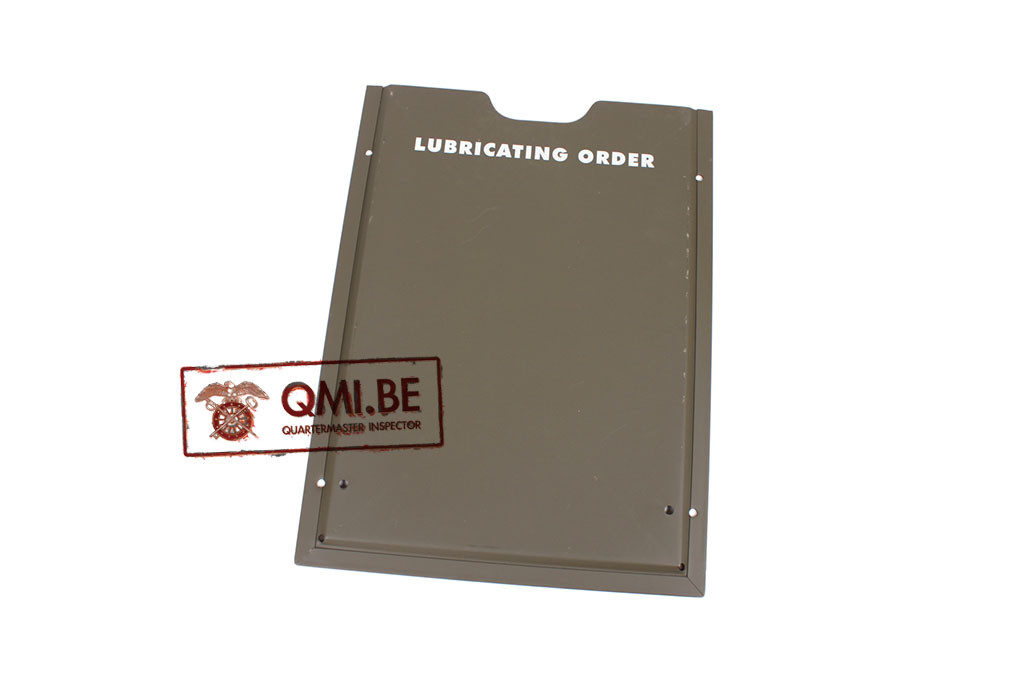 Holder, Lubrication Guide