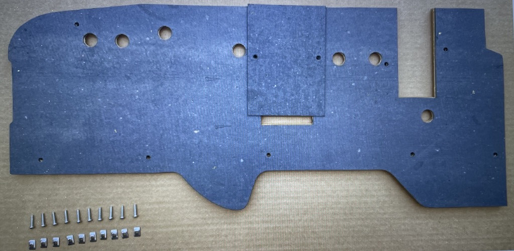 PAD, dash panel, Firewall for Willy's MB/Ford Jeep