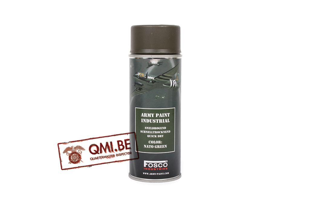 Spray can, Nato Green