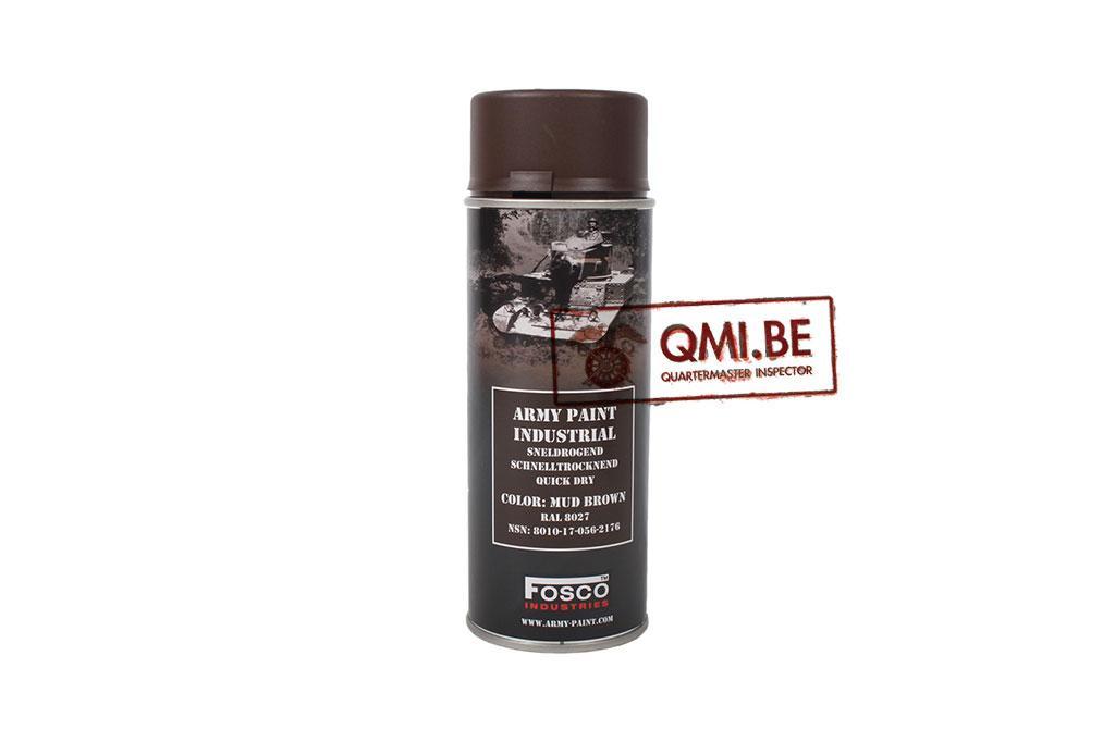 Spray can, Mud Brown, RAL 8027