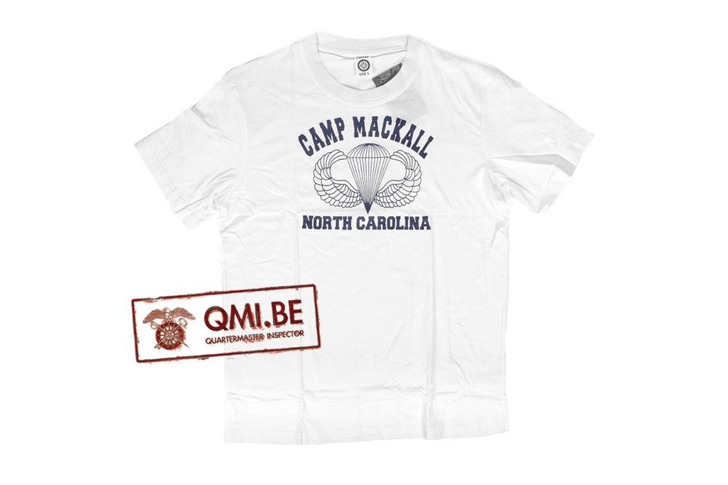 T-shirt, Camp Mackall North Carolina