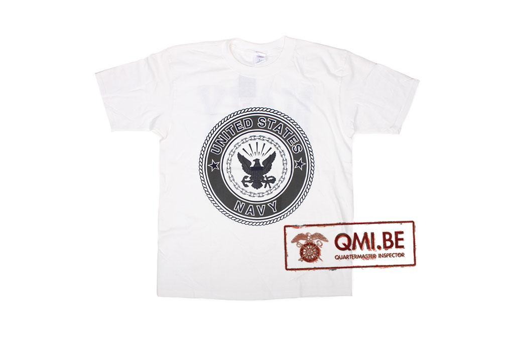T-shirt, United States Navy (white)