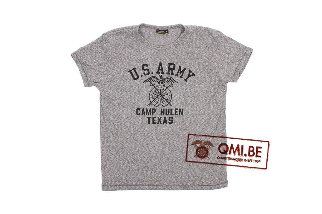 T-shirt, Gray, U.S. Army, Camp Hulen Texas