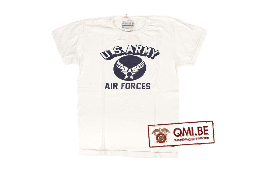 T-shirt, White, U.S. Army Air Force (1)