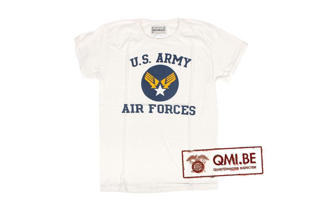 T-shirt, White, U.S. Army Air Force (2)