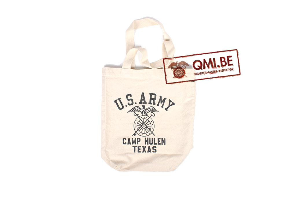 Tote bag, U.S. Army Camp Hulen Texas