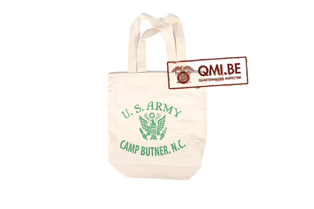 Tote bag, U.S. Army Camp Butner. N.C.