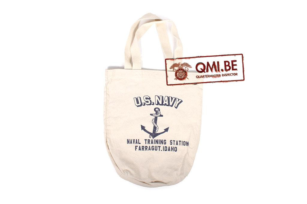 Tote bag, U.S. Navy Training Station Farragut Idaho