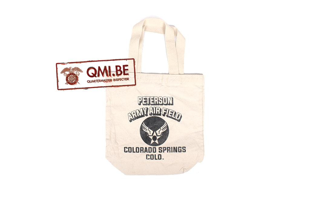 Tote bag, Peterson Army Air Field Colorado Springs