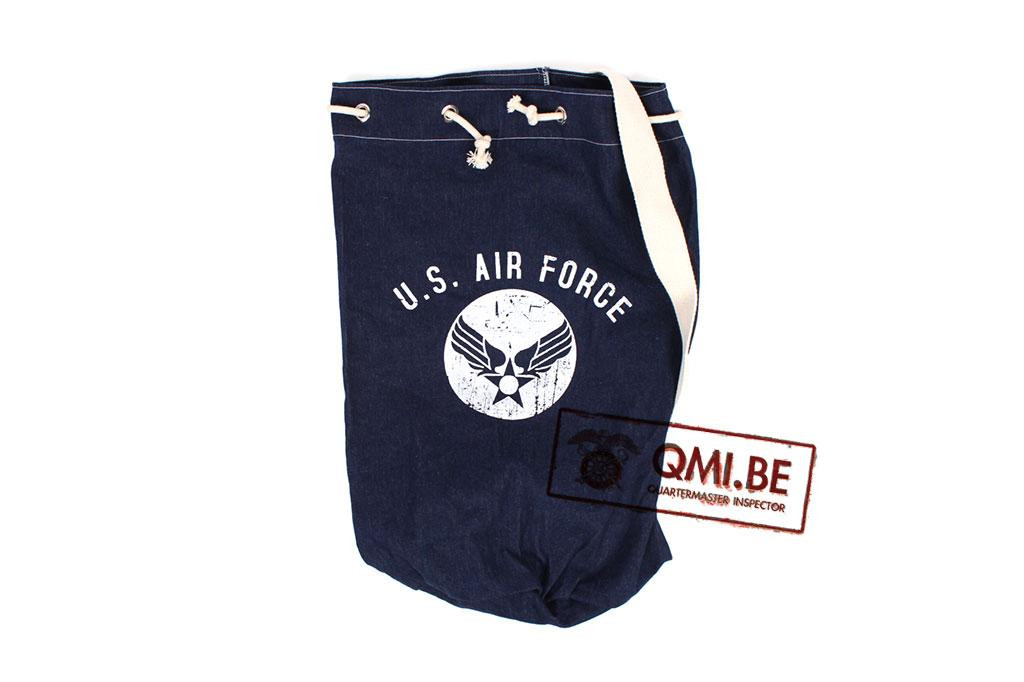 Duffel bag, U.S. Air Force, Blue denim