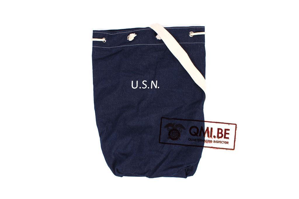 Duffel bag, U.S.N. Blue denim