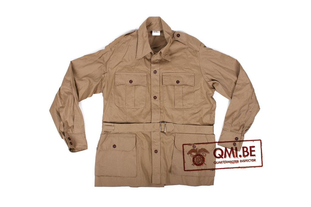 British WW2 Khaki Drill KD 4-pocket jacket