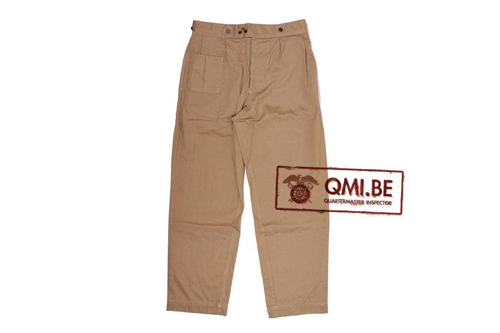 British WW2 Khaki Drill KD Trousers