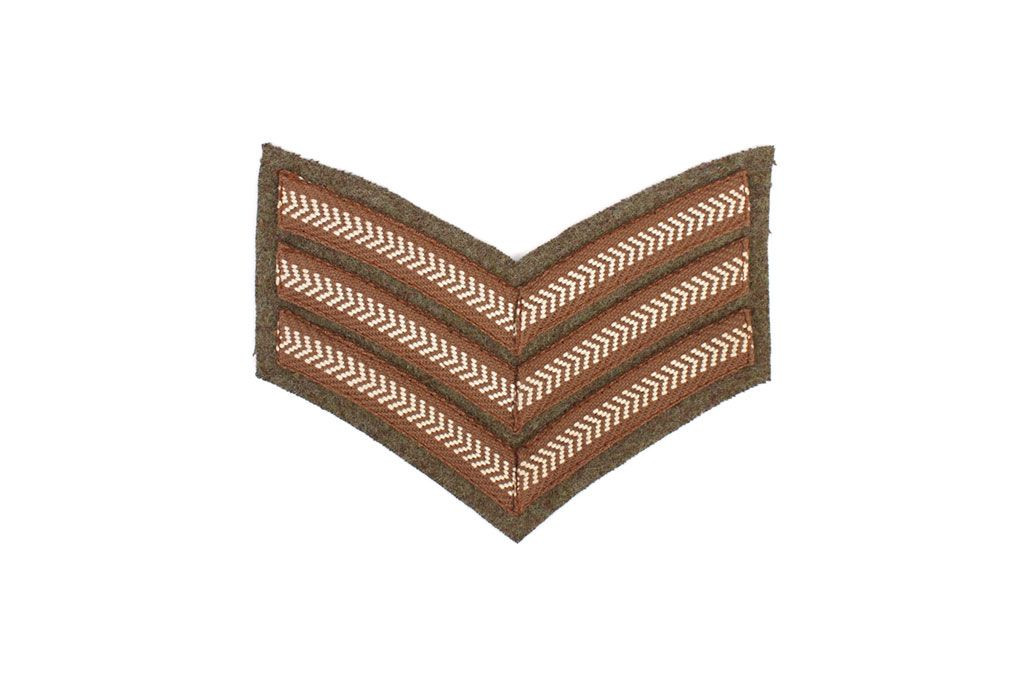 British Sergeant Rank Stripes