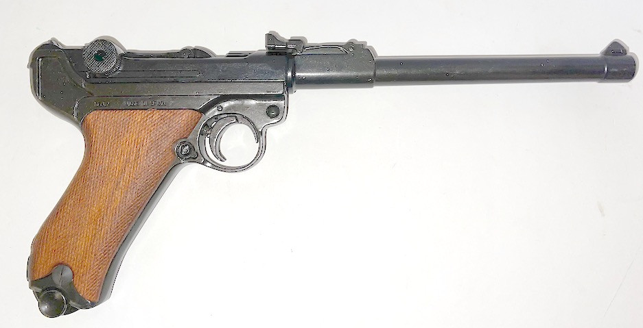 Luger LP08 Artillery with wooden grips (Non-firing replica)