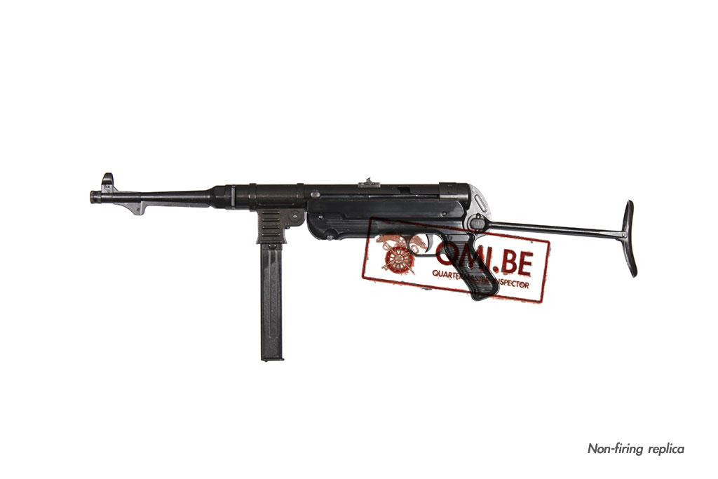 MP40 sub-machine gun, 9mm, (Non-firing replica)