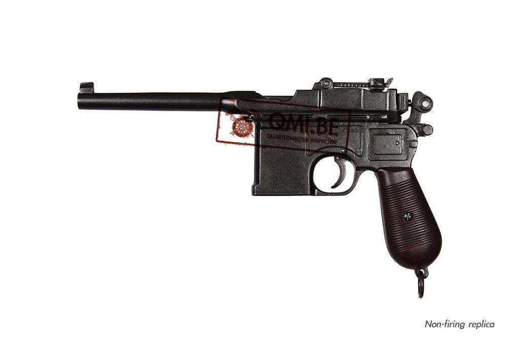 Mauser C96 automatic pistol, (Non-firing replica)