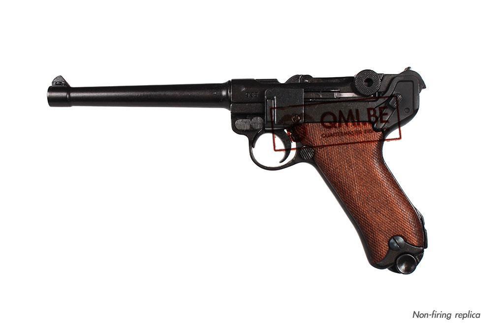 Luger P08 Navy, wood grip, (1906) (Non-firing replica)