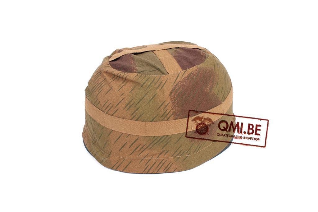German M38 Helmet cover, Sumpf Camo