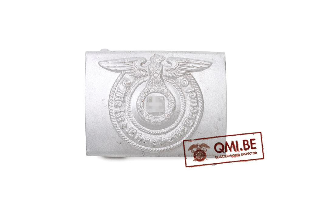 SS EM Belt Buckle, Silver