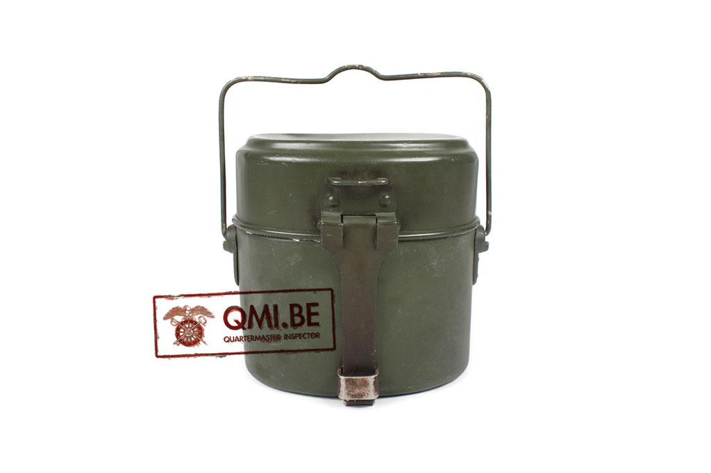 BW Mess Tin, green, (used)