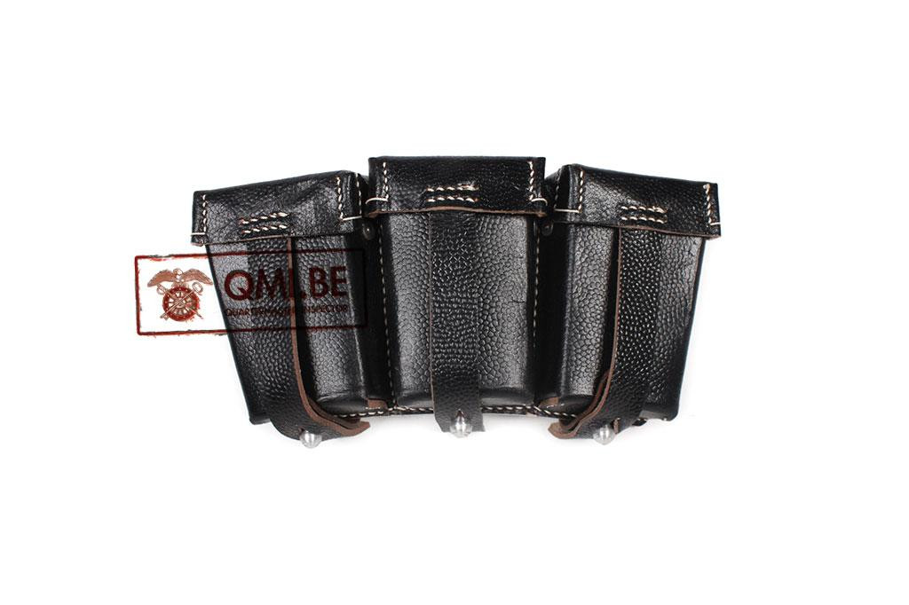 Pouch, Ammo, Mauser K98 (Black leather)