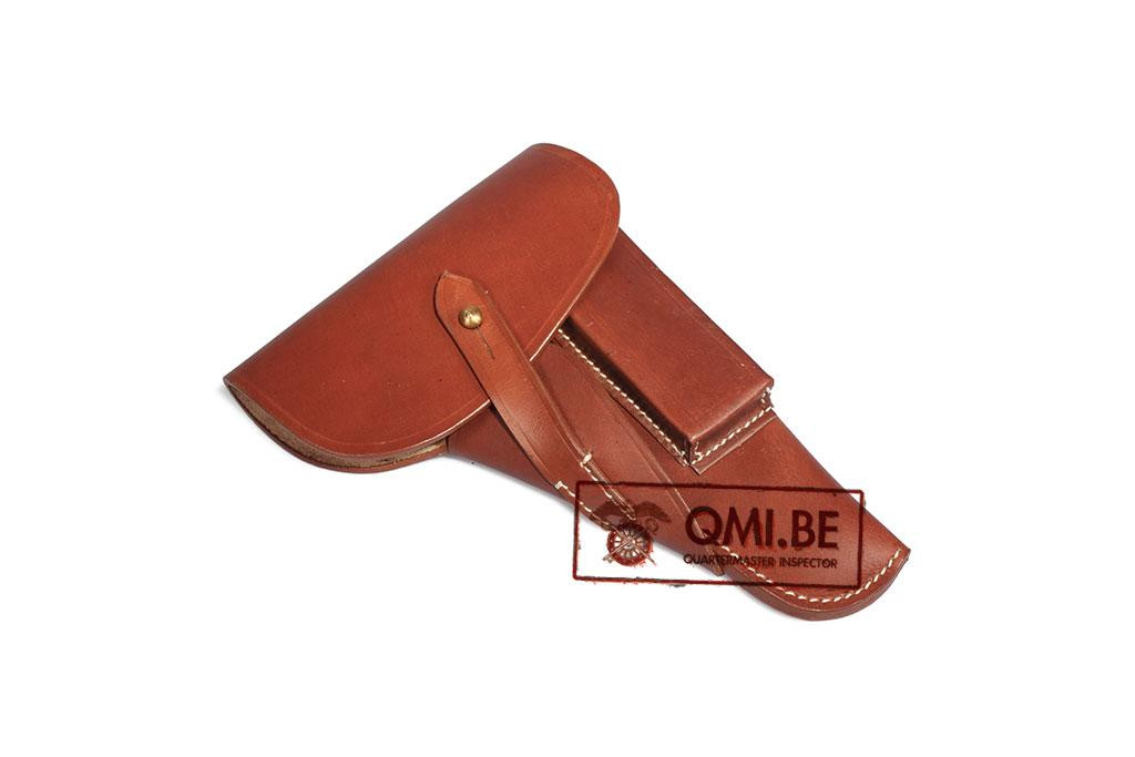 Holster, Browning Hi Power (Rust colored leather) gxy 1944