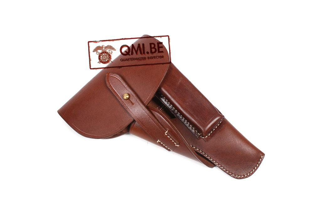 Holster, Browning Hi Power, (Brown leather)