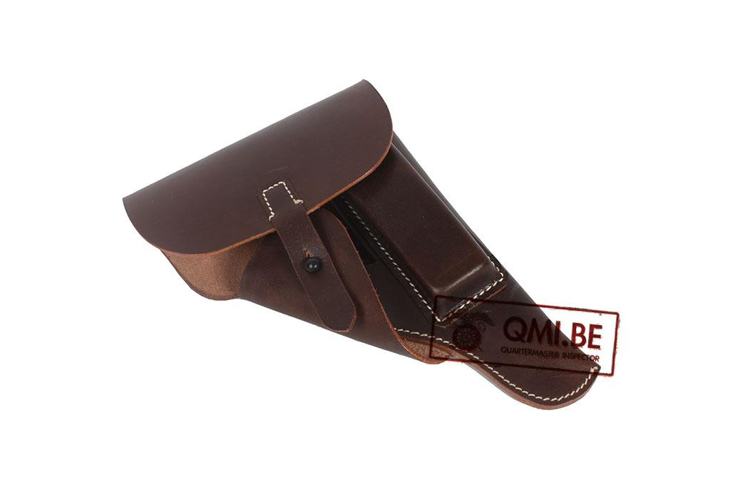 P38 Holster, Soft Shell (Brown leather)