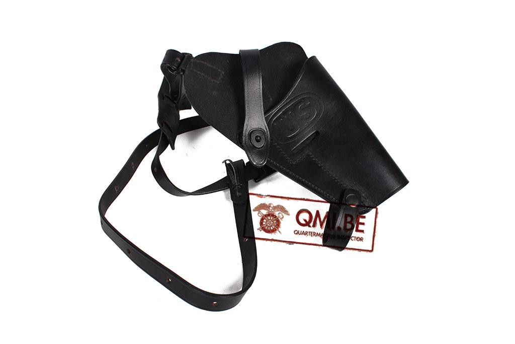 M7 Shoulder Holster Colt.45, pilots (Black leather)