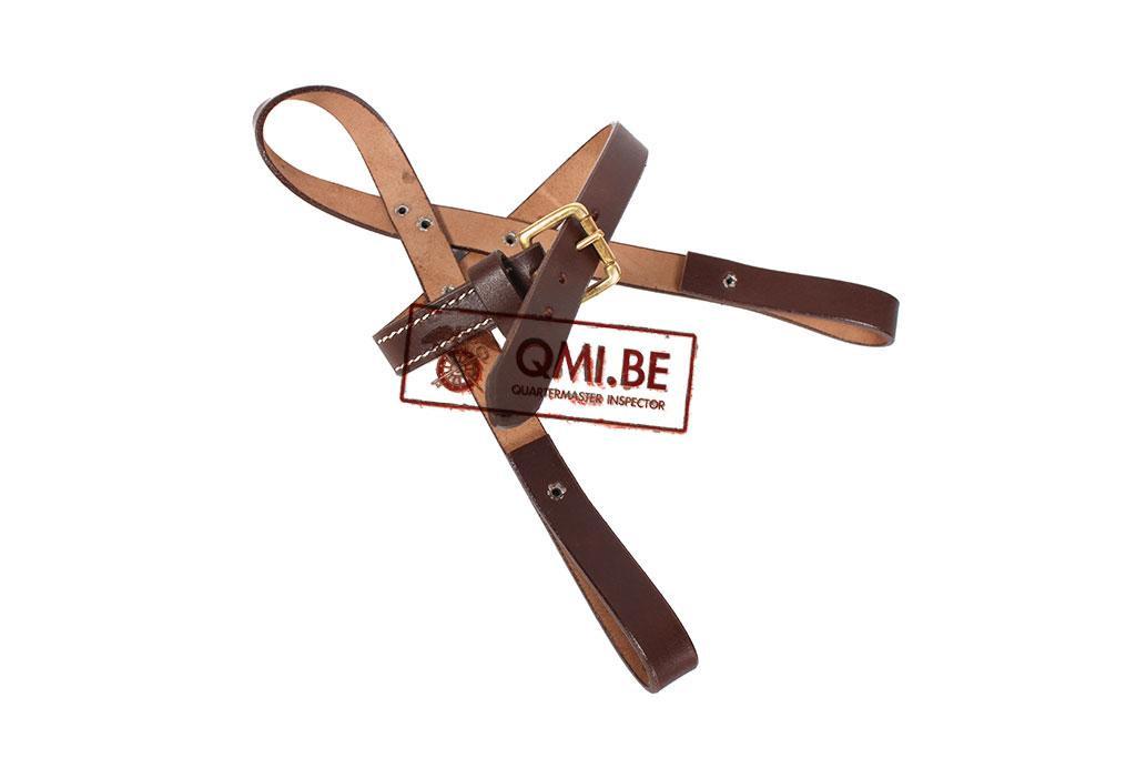 Shovel carrier, strap type (brown)