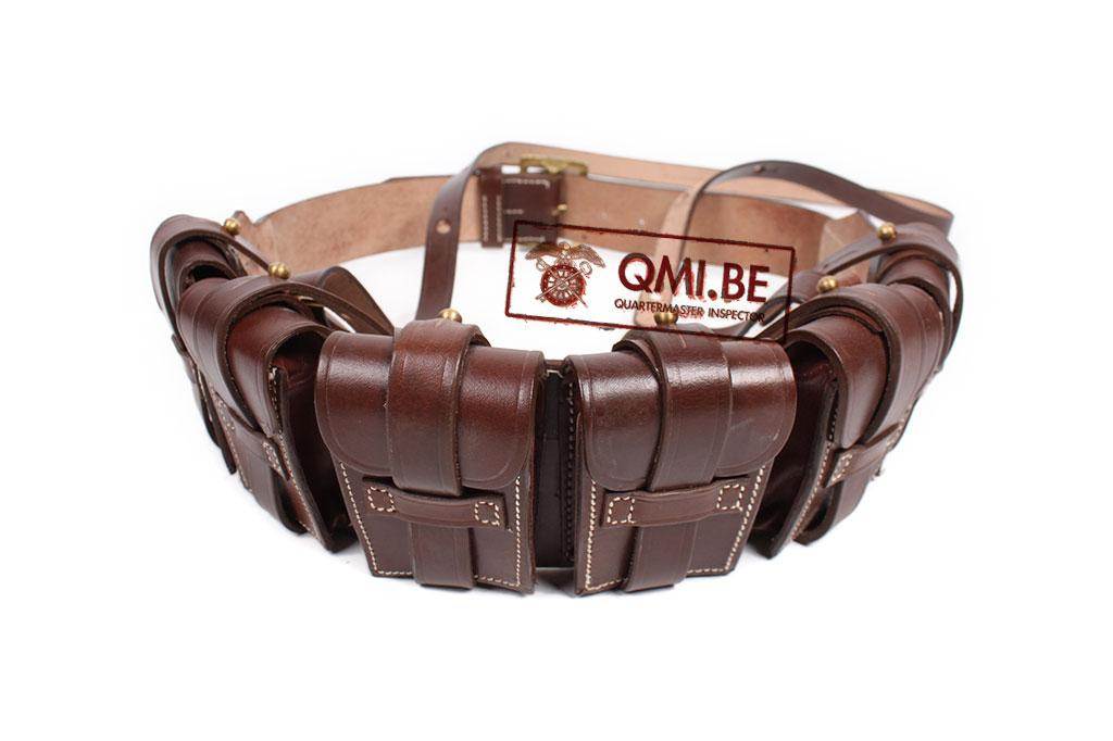 "Belgian Leather Bandolier type ""Gomez"""
