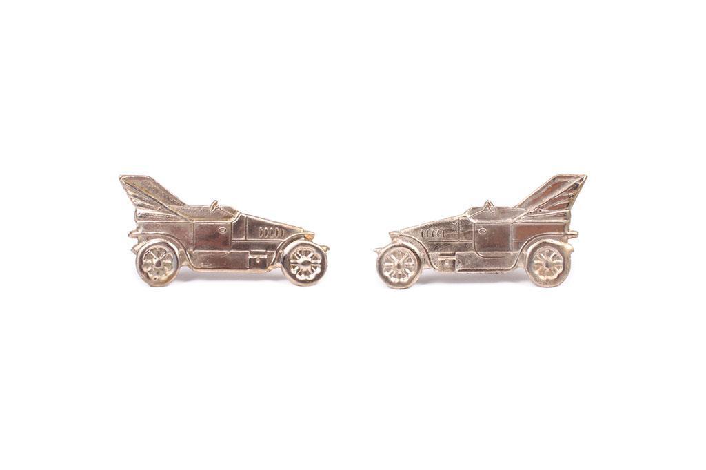 Pin, Car drivers (pair)