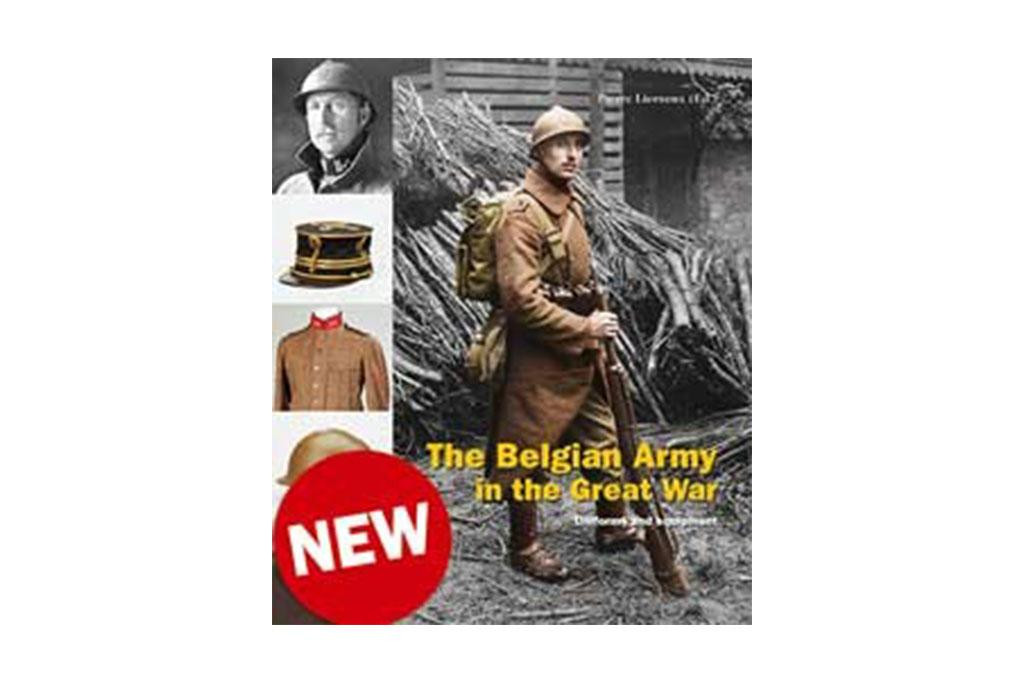 Book, The Belgian Army in the Great War - English