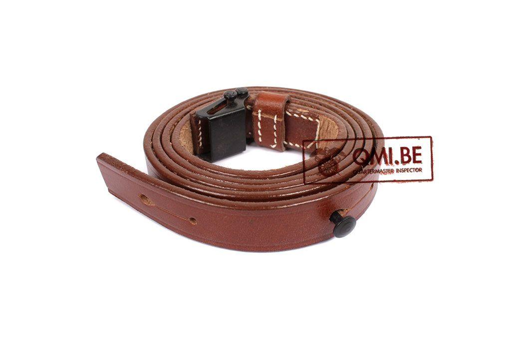 Leather sling, Italian Carcano rifle
