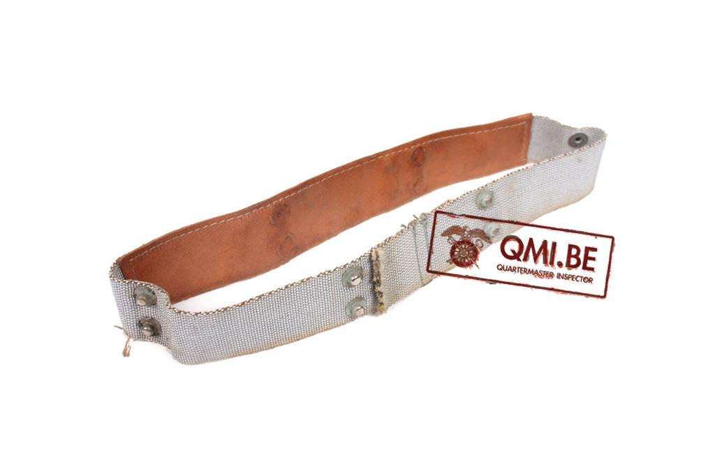 US WWII Liner Headbands early type in Rayon webbing J
